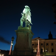 Gustav Adolf om natten