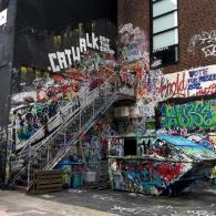 Graffiti vid Röda Sten